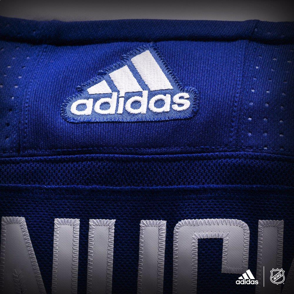 official photos 84505 e2c8d On to Adidas: Breaking Down the NHL's Adizero Jerseys ...