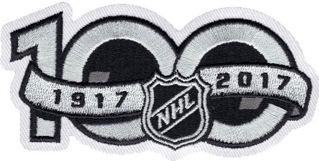 The Centennial  100  patch carried over and stayed on its right sleeve for  the rest of 2017. Vancouver also wore the NHL China Games patch during the  two ... 812b30ff5